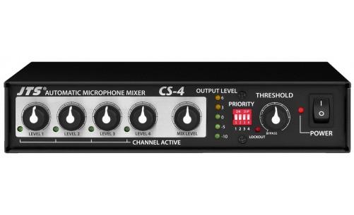 Mezclador automatico de micrófonos CS4
