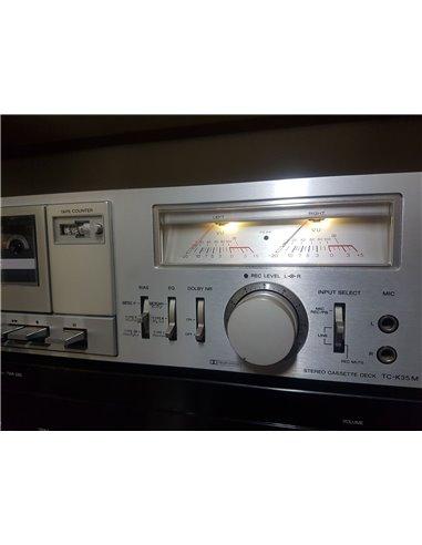 Pletina Deck Sony TC-K35M, restaurada a la máxima