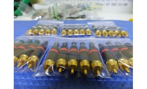 46 conectores RCA