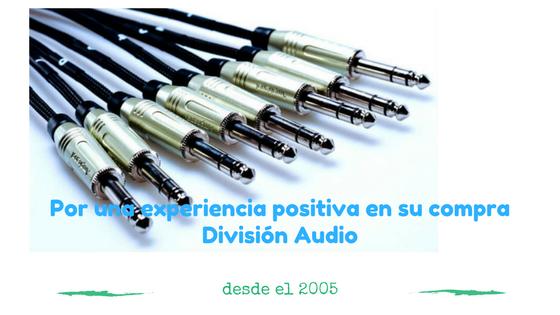 división audio